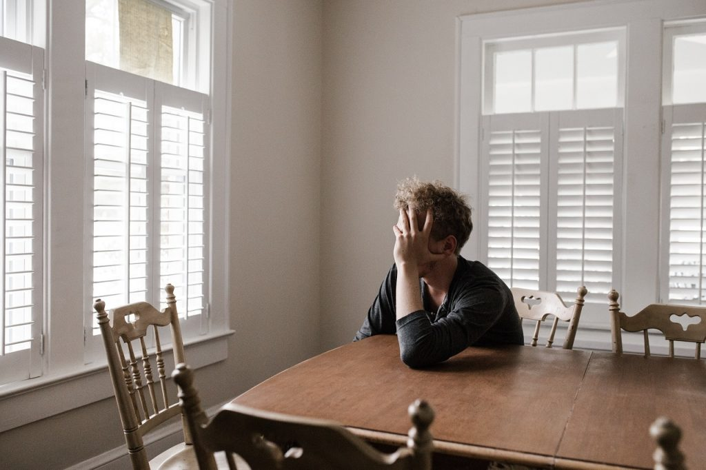 Teen Depression Statistics - boy